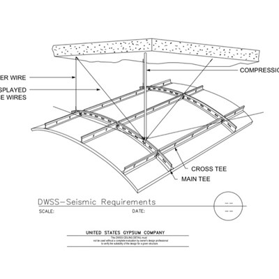 13 05 41 09 21 16.93 DWSS Interior Ceiling Seismic Requirements
